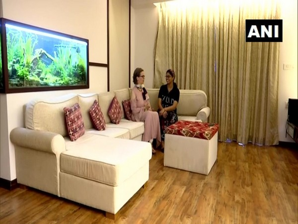 Christe Jhonson from Switzerland has started a 'Select Rooms' services dedicated only to women travelers in Thiruvananthpuram [Photo/ANI]