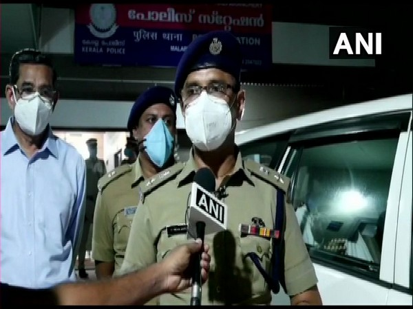Abdul Karim, Malappuram Superintendent of Police (SP) Abdul Karim speaking to ANI on Sunday. Photo/ANI