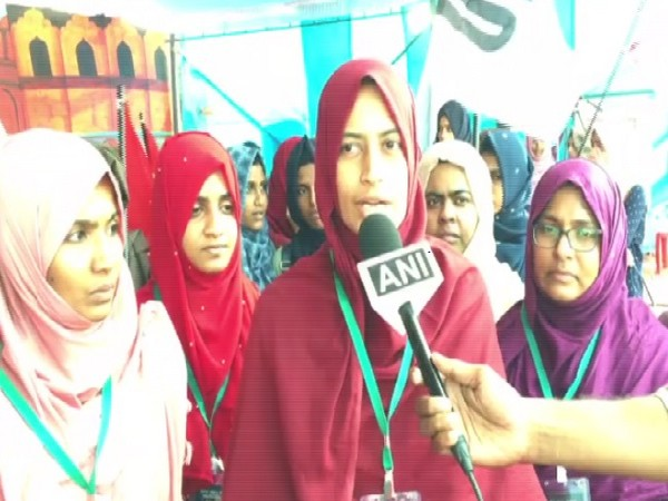 State president of Girls Islamic Organization of India speaking to ANI in Kochi on Wednesday.