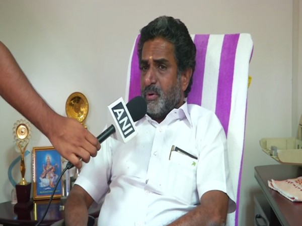 CIAL director A C K Nair speaks to ANI in Kochi [Photo/ANI]