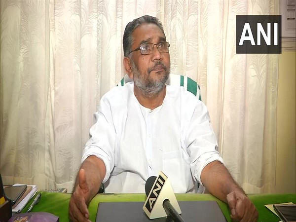 KS Radhakrishnan speaking to ANI in Kochi on Thursday.