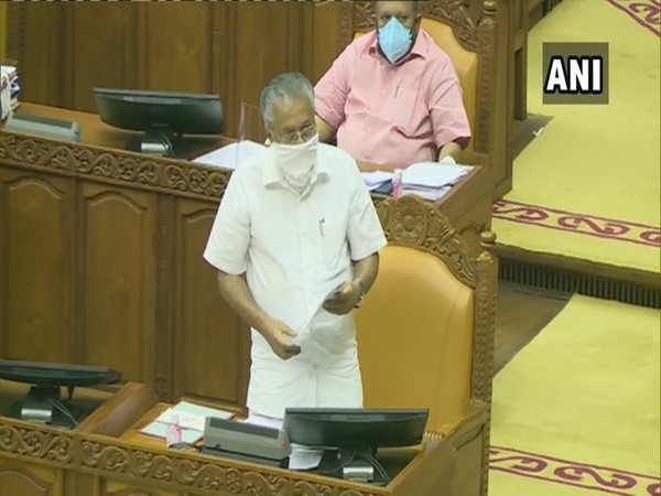 Kerala Chief Minister Pinarayi Vijayan. [Photo/ANI]