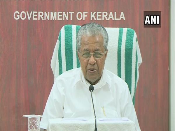 Kerala Chief Minister Pinarayi Vijayan [File Photo/ANI]