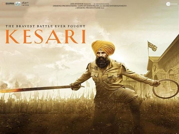 Akshay Kumar in a new poster of 'Kesari', Image courtesy: Instagram