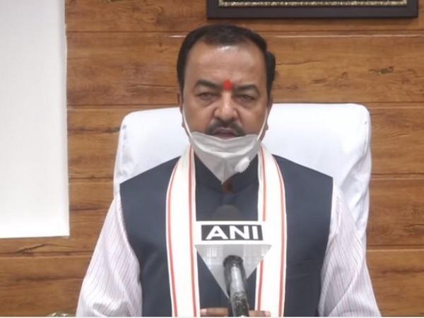Uttar Pradesh Deputy Chief Minister Keshav Prasad Maurya (Photo: ANI)