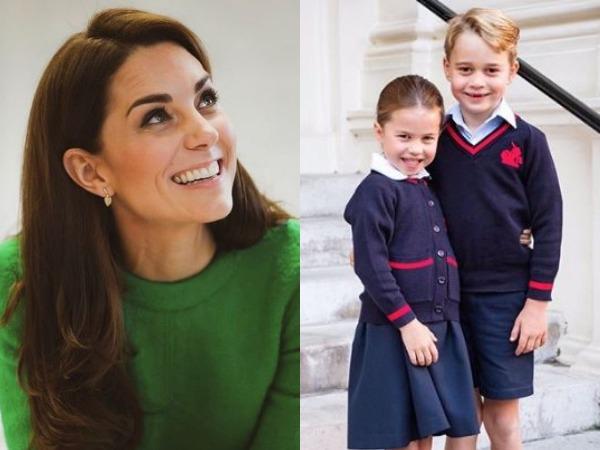 Kate Middleton, George, Charlotte (Image courtesy: Instagram)