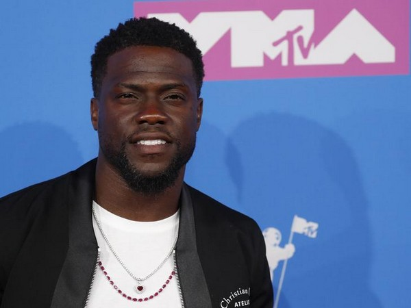 Actor-comedian Kevin Hart