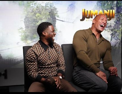Kevin Hart and The Rock (Image Courtesy: Instagram)