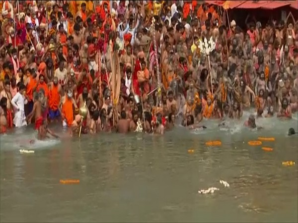 File photo from Kumbh Mela, Haridwar (ANI)
