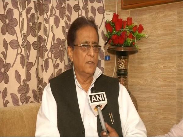 SP leader Azam Khan speaking to ANI in Lucknow, Uttar Pradesh.
