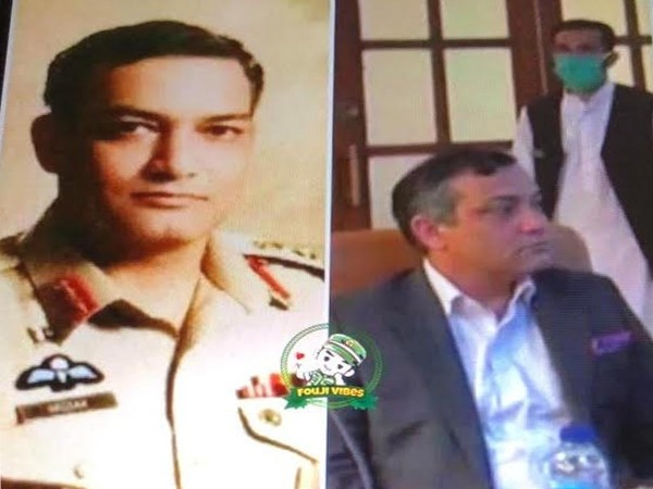 Brig. Hassan Afzal, ISI's top officer in Balochistan