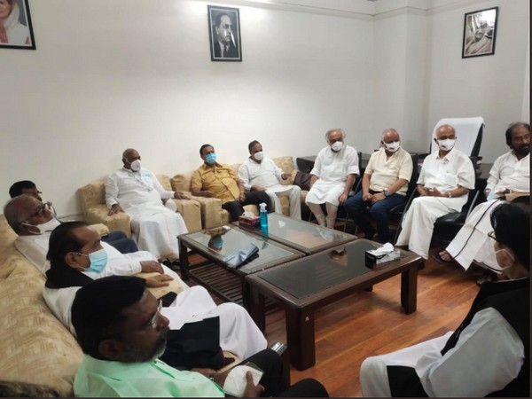 Visuals from the meeting (Photo/ANI)