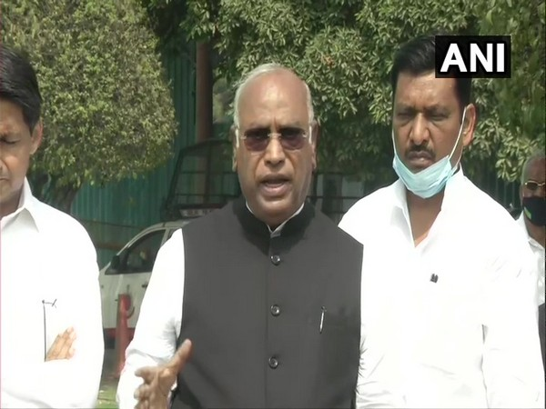 Leader of Opposition in Rajya Sabha Mallikarjun Kharge
