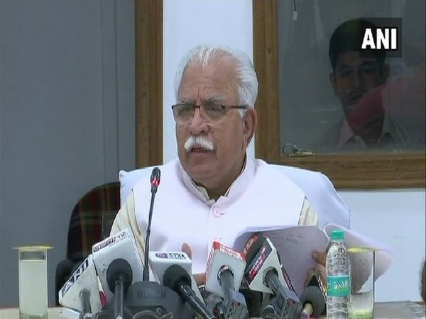 Haryana Chief Minister Manohar Lal Khattar (File photo)