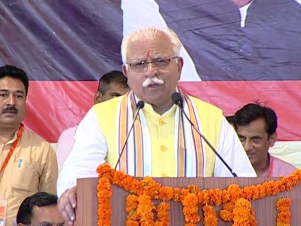 Chief Minister Manohar Lal Khattar (file photo)