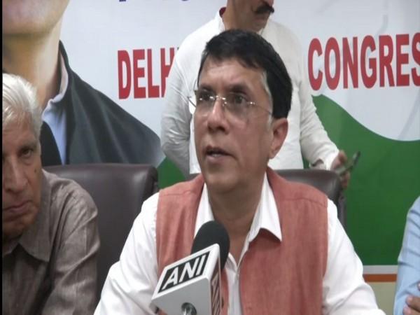 Pawan Khera speaking to ANI in Delhi on May 11