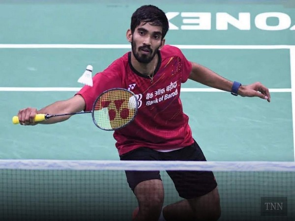 Indian shuttler Kidambi Srikanth (Photo/BAI Media Twitter)