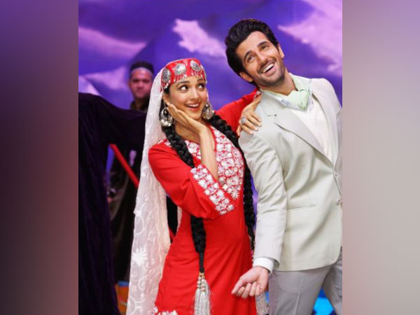 Kiara Advani and Aditya Seal in a still from song 'Dil Tera' (Image Source: Instagram)
