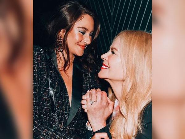 Shailene Woodley and Nicole Kidman, Image courtesy: Instagram