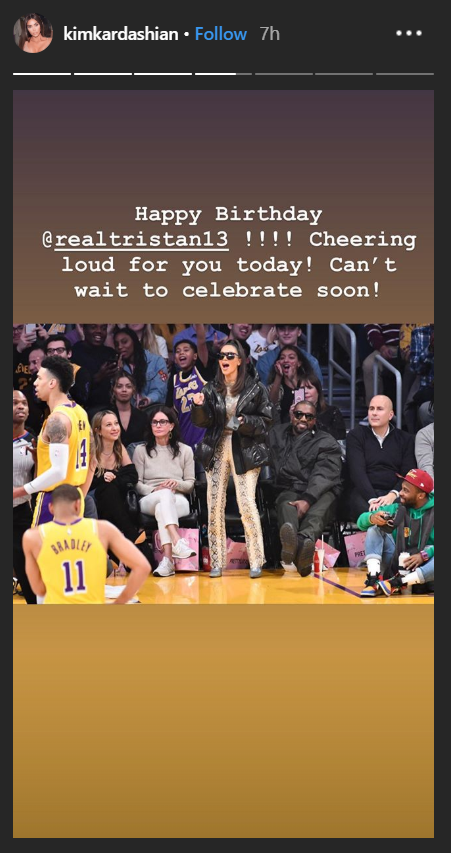Kim Kardashian S Birthday Message For Sister Khloe S Ex Tristan Thompson May Surprise You Instagram is the best place and space online to show how you care for your loved ones whether it's your husband, wife, girlfriend/boyfriend share birthday messages stories on instagram that appear for 24 hours a day. sister khloe s ex tristan thompson