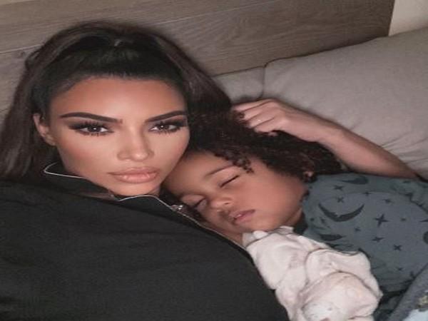 Kim Kardashian and son Saint (Picture Courtesy: Instagram)