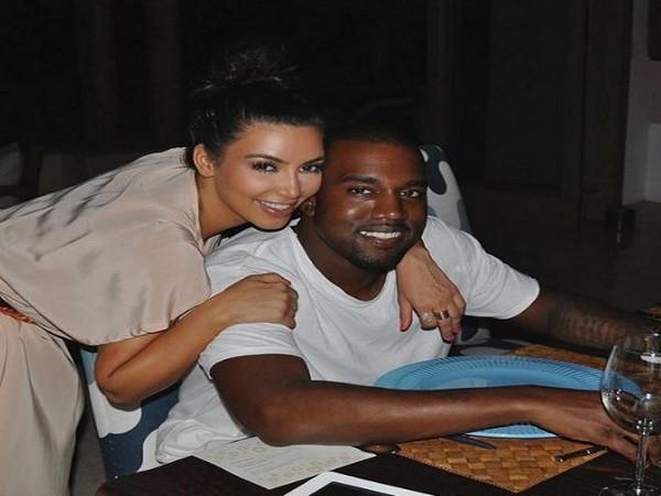Kim and Kanye West (Image courtesy: Instagram)