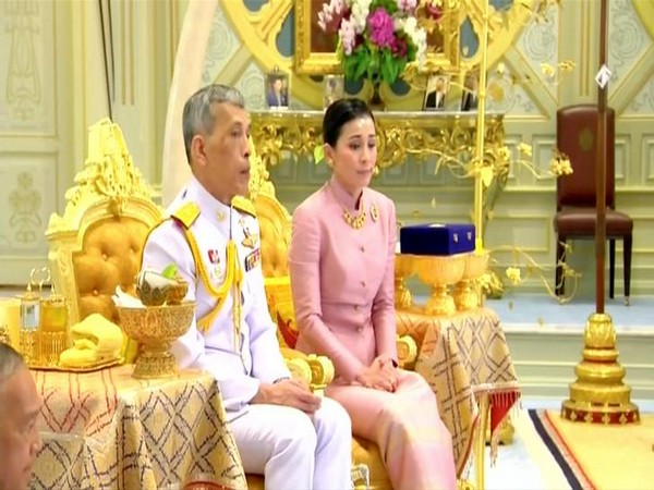 Thailand's King Maha Vajiralongkorn Bodindradebayavarangkun and Queen Suthida