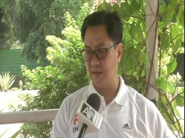 Union Youth Affairs and Sports minister Kiren Rijiju (File Photo)