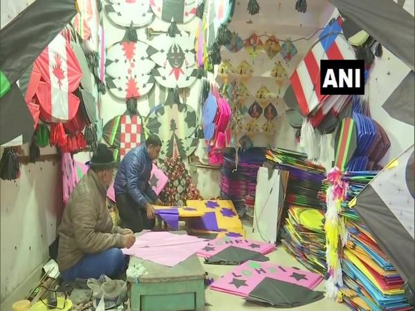A visual from a kite shop in Amritsar, Punjab. (Photo/ANI)