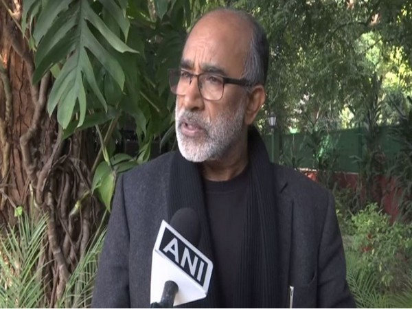 KJ Alphons speaking to ANI in New Delhi on Wednesday. Photo/ANI