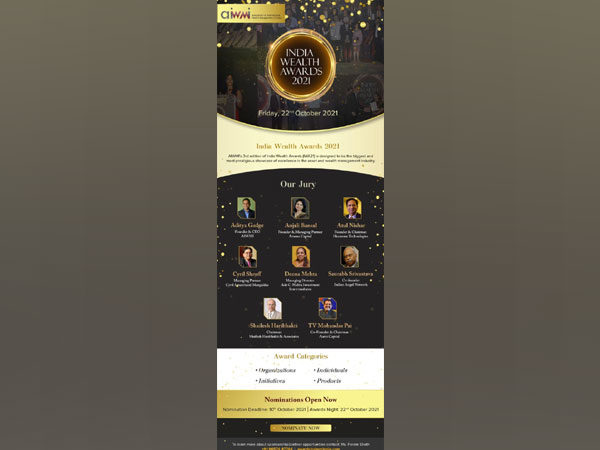 Nominations open for India Wealth Awards (IWA 21)