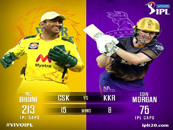 MS Dhoni and Eoin Morgan  (Photo: Twitter/IPL)