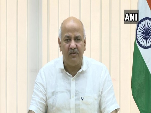 Delhi Deputy Chief Minister Manish Sisodia addressing a digital press meet on Tuesday.