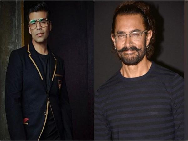 Karan Johar and Aamir Khan