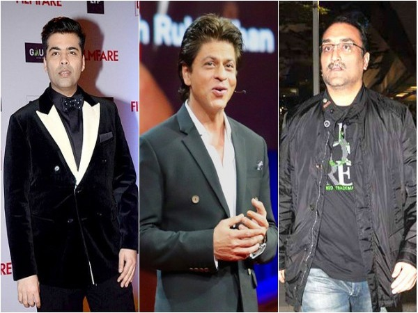 Karan Johar, Shah Rukh Khan and Aditya Chopra