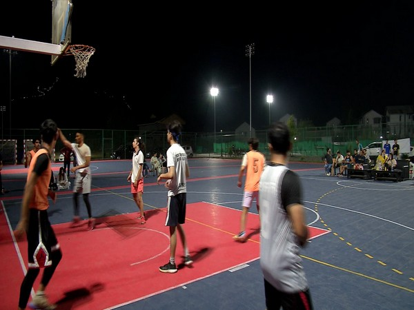 J-K's first night basketball tournament  (Photo/online betting in india)