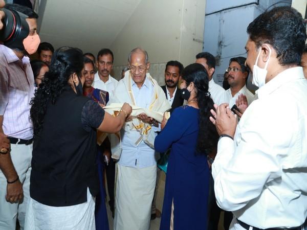India's 'Metro Man' and BJP candidate E Sreedharan (Photo/Twitter)