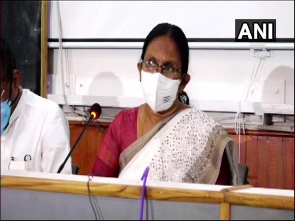 Kerala Health Minister K K Shailaja (File Photo/ANI)