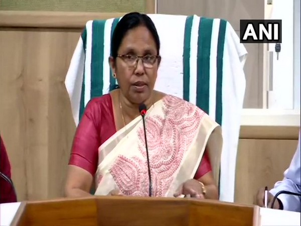 Kerala Health Minister KK Shailaja (File Photo/ANI)