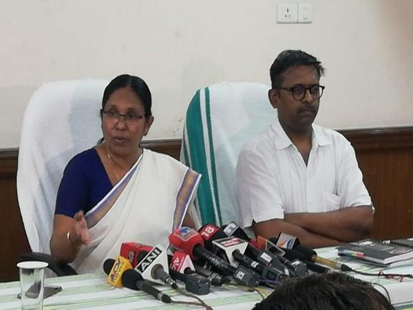 Kerala Minister of Health and Social Welfare K K Shailaja. (File photo)