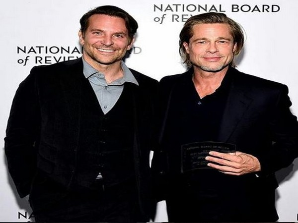 Bradley Cooper with Brad Pitt (Image courtesy: Instagram)