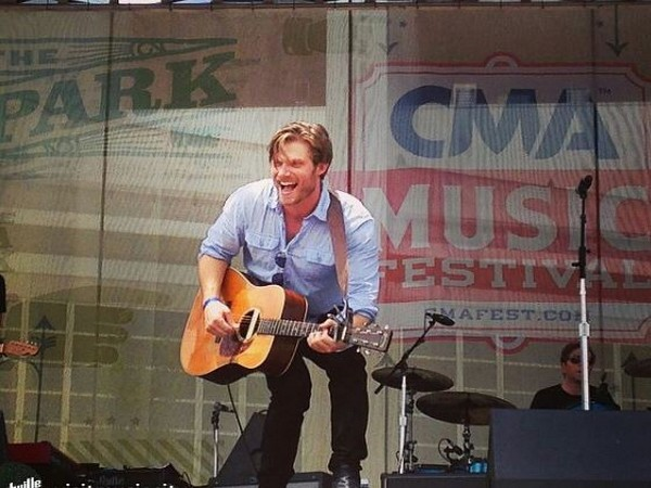 Chris Carmack at CMA Fest (Image courtesy: Instagram)