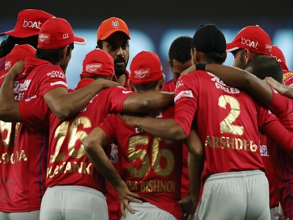 KXIP players discussing during the match (Image: BCCI/IPL)