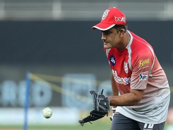 KXIP head coach Anil Kumble (Image: BCCI/IPL)