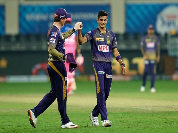 KKR players celebrate after taking a wicket of Jofra Archer. (Image: BCCI/IPL)
