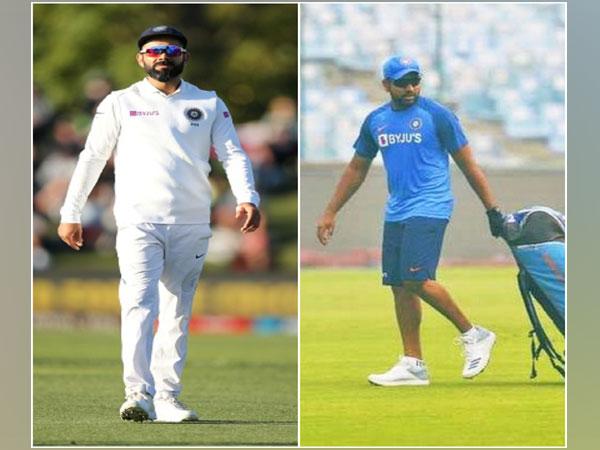 Indian skipper Virat Kohli and batsman Rohit Sharma (Image of Rohit: Rohit Sharma's Twitter)