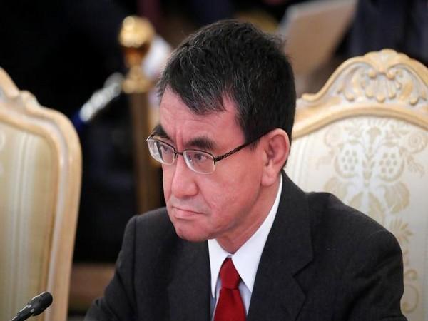Japanese Defence Minister Taro Kono (File photo)
