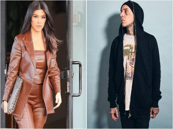 Kourtney Kardashian and Travis Barker (Image source: Instagram)