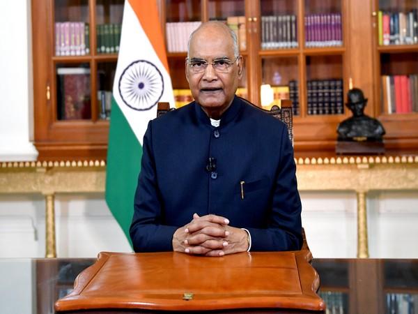President of India Ram Nath Kovind (File photo/ANI)