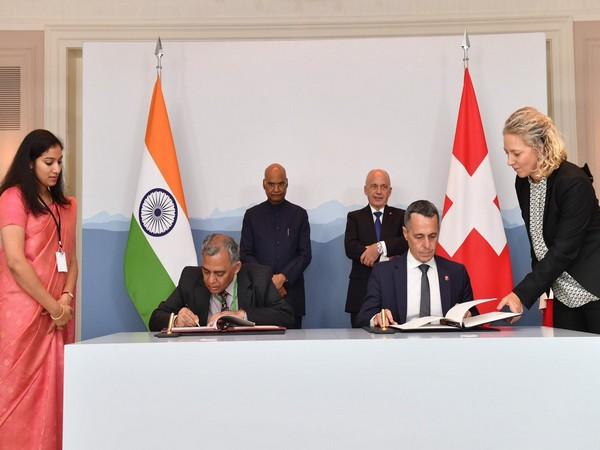 President Kovind and his Swiss counterpart Ueli Maurer witnessed signing of agreements on Friday.